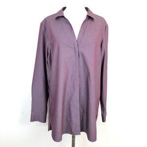 Foxcroft NYC Button Down Shirt Heritage Non-Iron